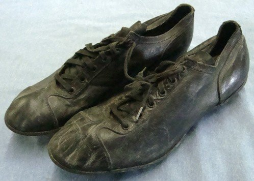 18: Early Pair of Vintage Baseball Shoes