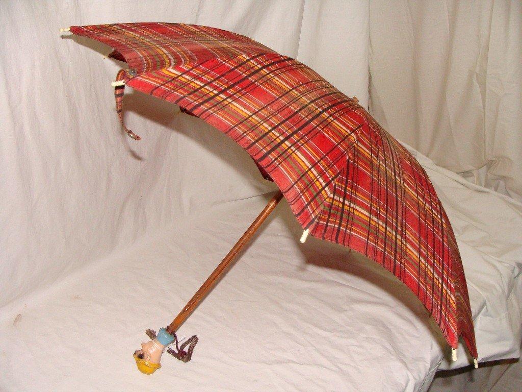 1: Vintage Pinocchio Umbrella