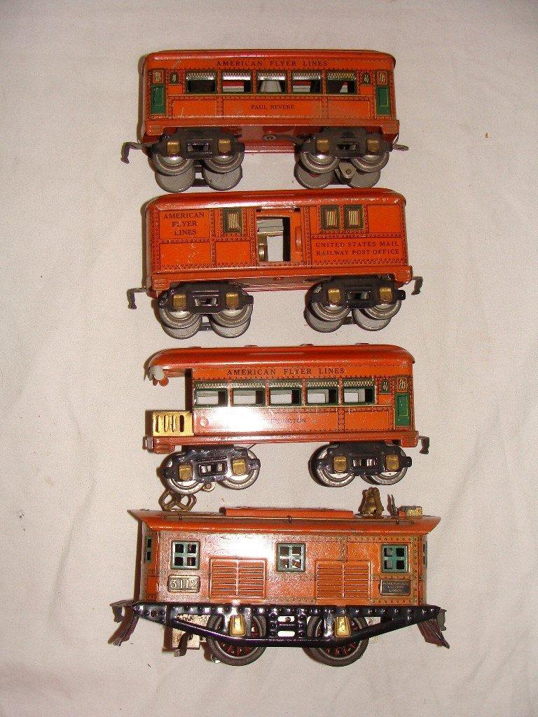 12: American Flyer Limited Pre-War Tin Electric Locomot