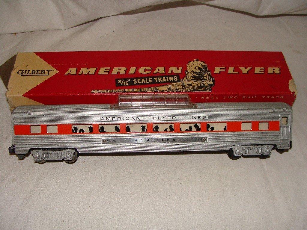 21: American Flyer 962 Hamilton Vista Dome Passenger Ca