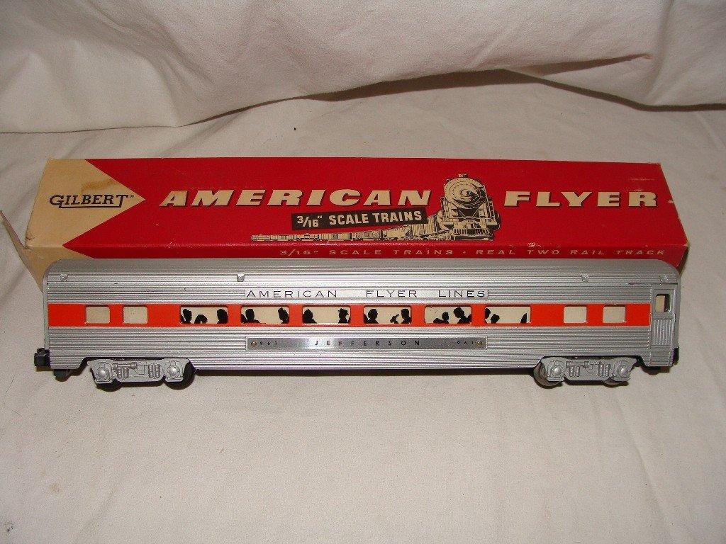 22: American Flyer 961 Jefferson Coach  Car
