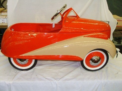 2 Steelcraft 1939 Lincoln Zephyr Pedal Car