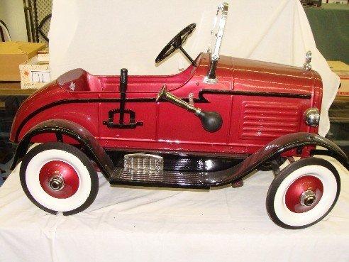 3: Rare 1926 Steelcraft Hupmobile Pedal Car
