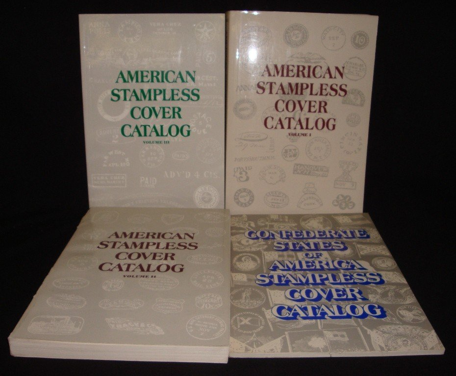 19: American Stampless Cover Catalog (3)Vols.