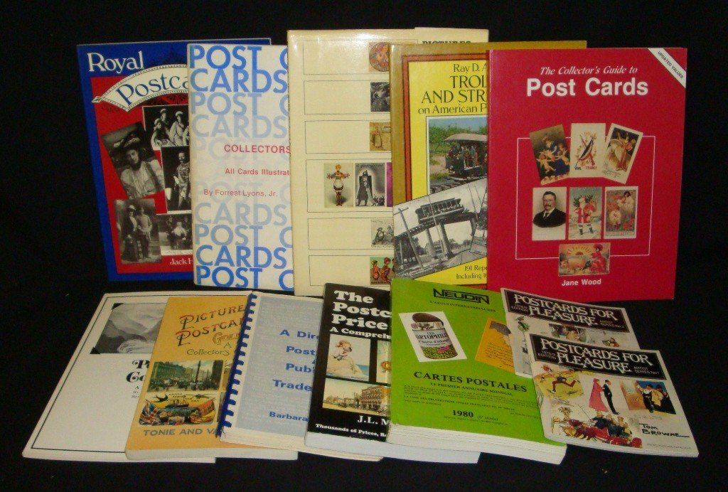 24: Postcard Price & Reference Guides