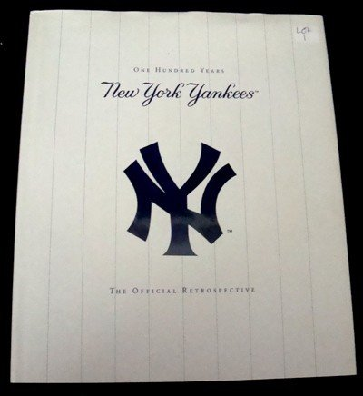 1: New York Yankees 100 Years Signed by Whitey Ford