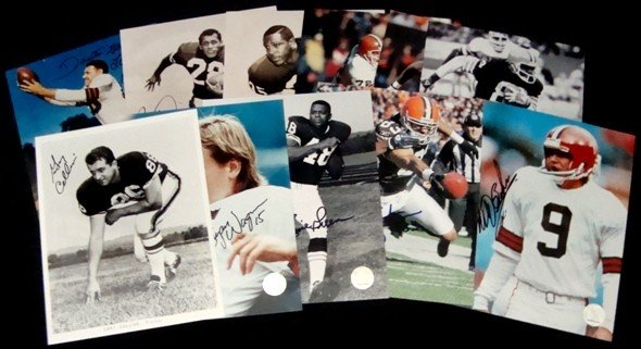 4: Lot of (30+) Signed 8x10 Photos Various Sports