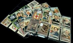 13 Lot of Vintage NonSport Cards Topps