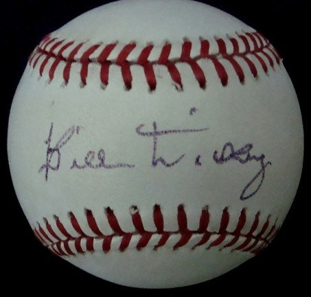 23: Bill Dickey Autographed Baseball