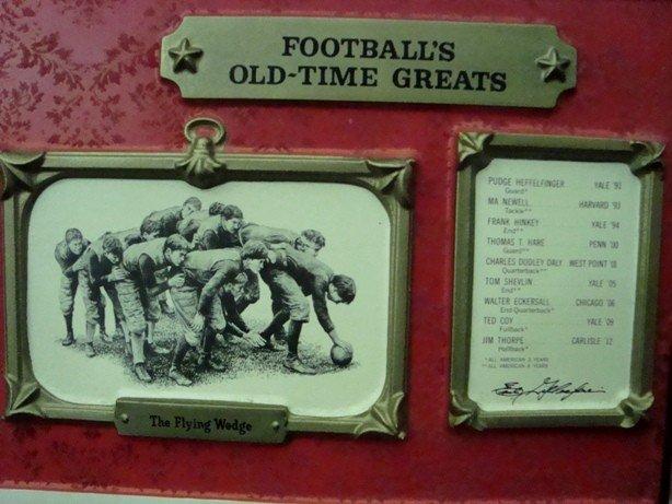 110: Rare Pabst Blue Ribbon Football Bar Sign Display - 3
