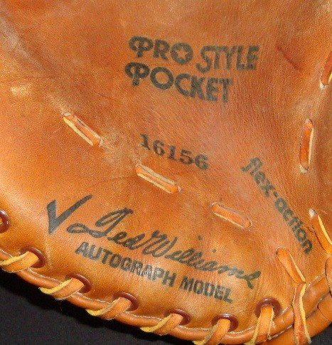 356: Ted Williams Autograph Model Glove - 3