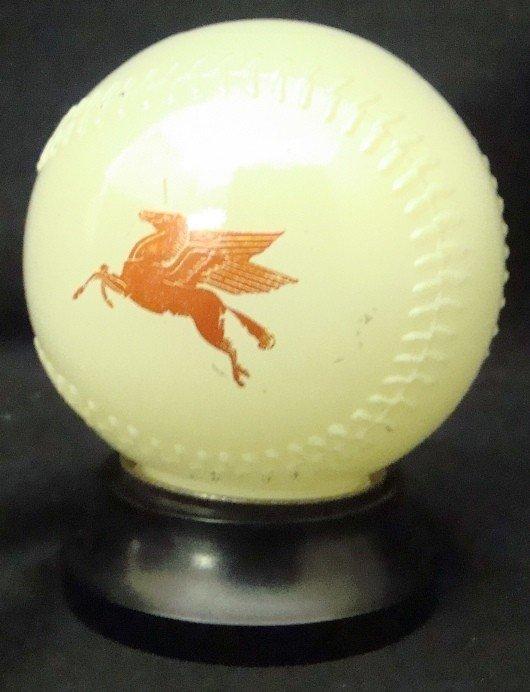 358: 1950's Mobil Gasoline Detroit Tigers Baseball Bank