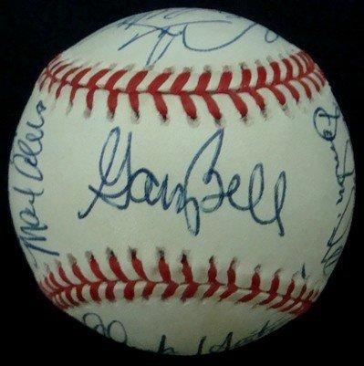361: OAL Gene Budig Autographed Baseball, JSA
