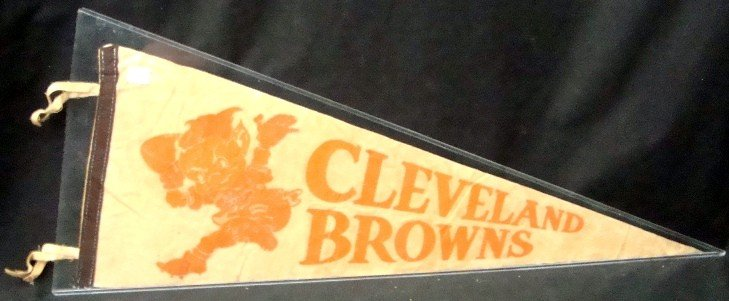 370: 1948 Browns Mean Brownie Full Size Pennant