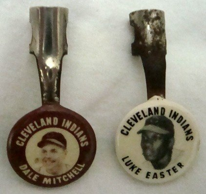 497: 1950 Cleveland Indians Pencil Clips