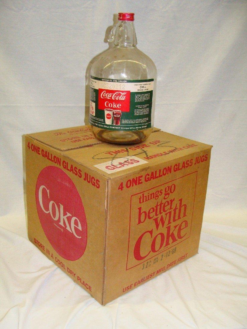 17: Vintage Coca-Cola Original Case w Syrup Bottles