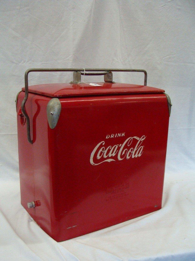 20: 1958 Acton Coca-Cola Cooler