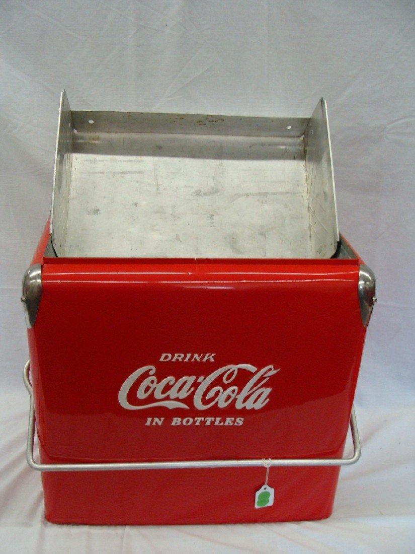 21: 1958 Acton Coca-Cola Cooler Restored w TRAY