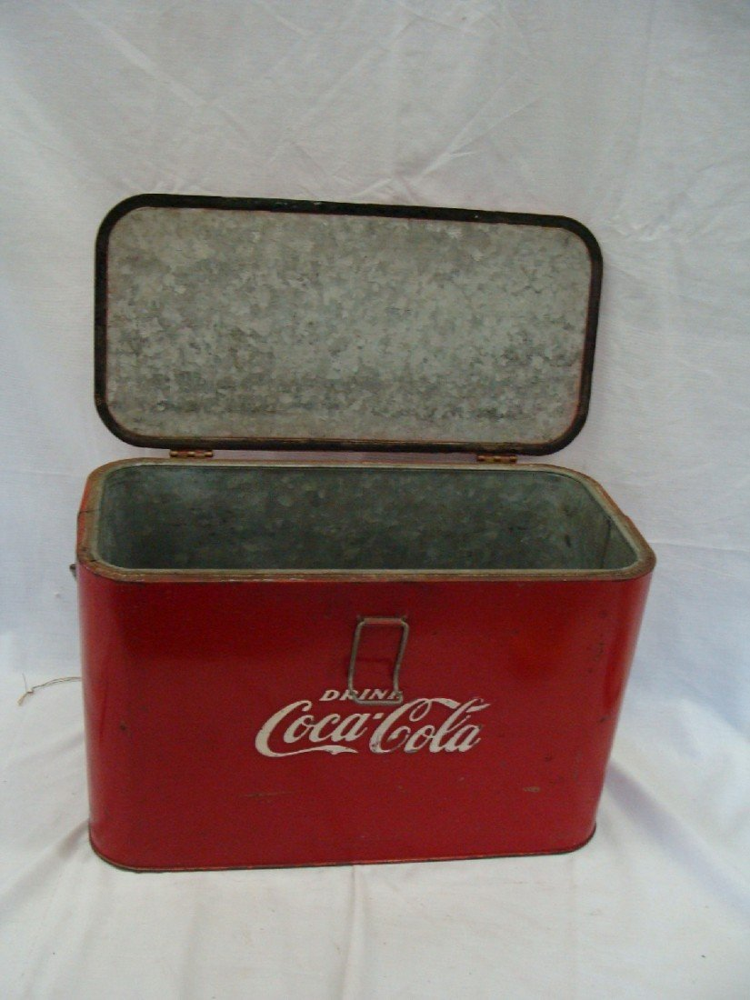 24: 1940's Airplane Running Board Cooler by Progress