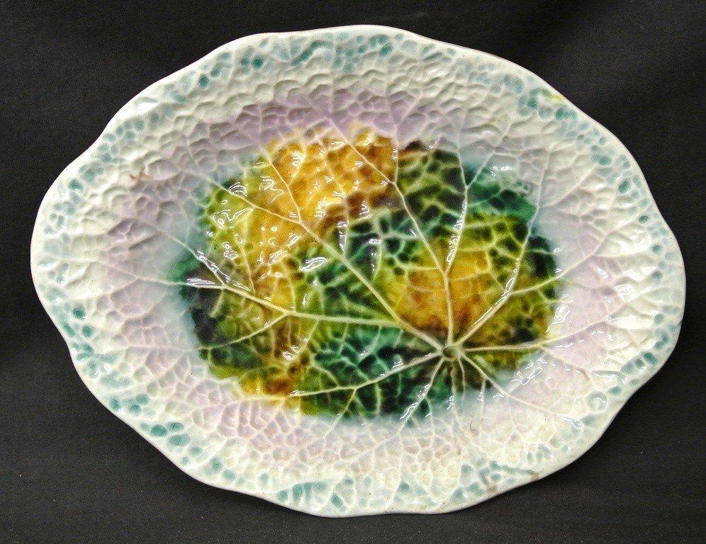 603: Majolica Serving Dish