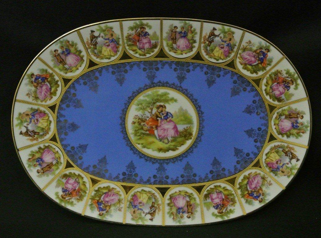 """618: Eberthal Bavarian 15"""" Platter"""