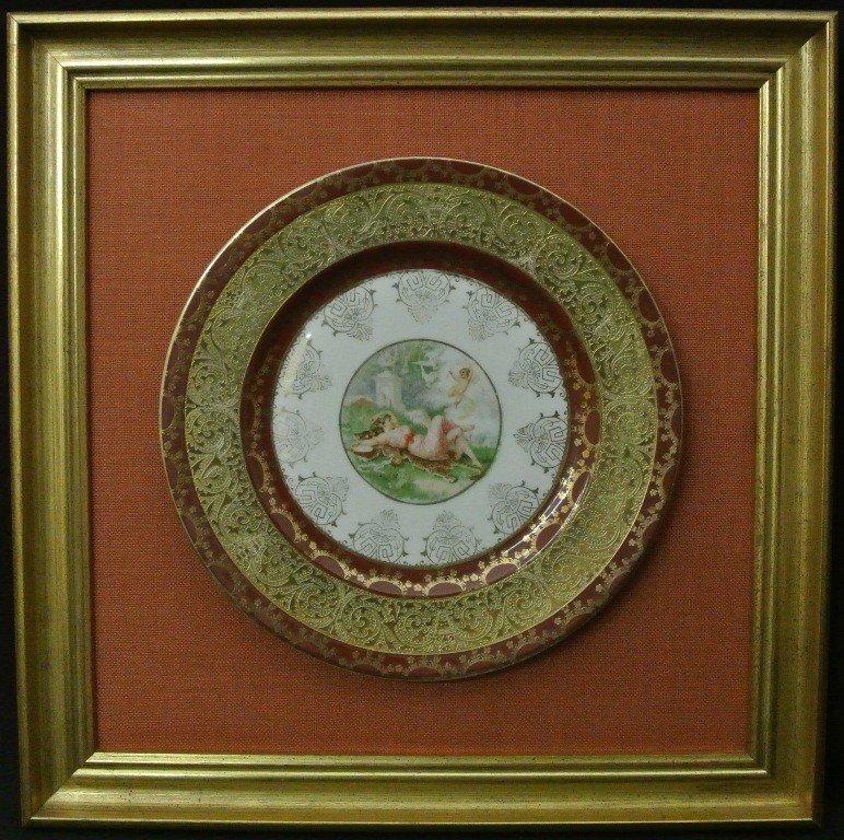 620: Decorative Royal China Plate