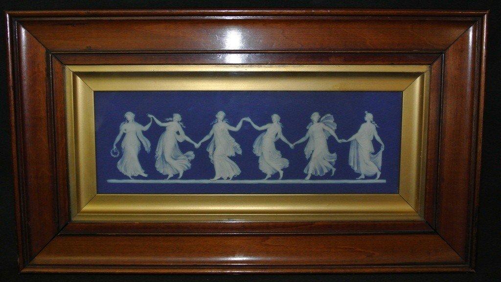 621: Wedgewood Dancing Maidens Wall Plaque