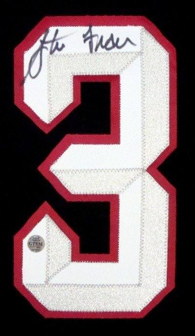 9: Steve Francis Autographed Number Patch