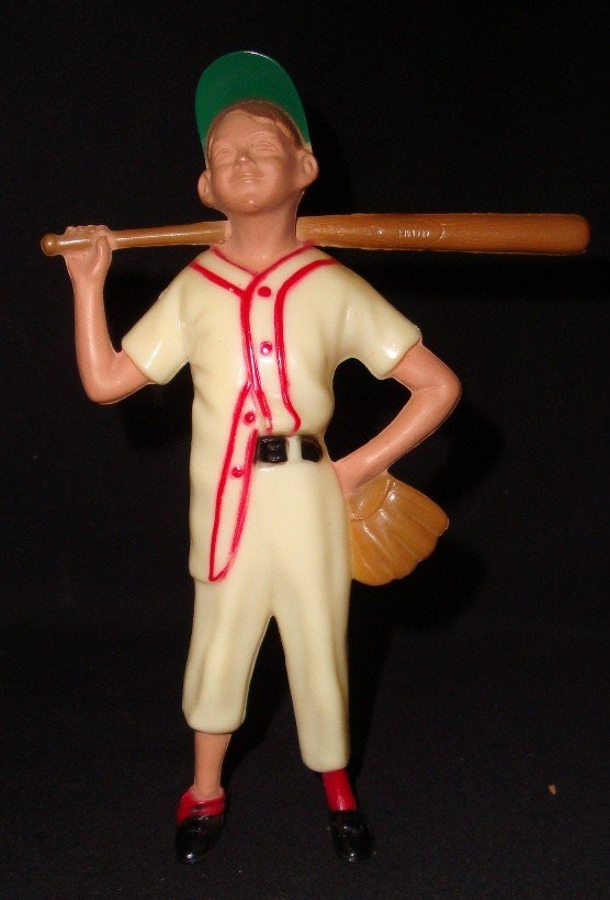 17: 1958-62 Original Hartland Bat Boy Figurine