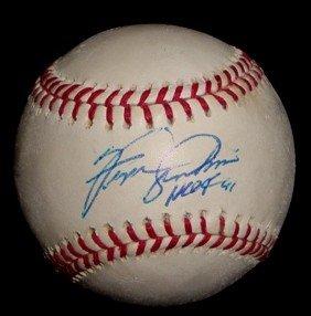 458: Fergie Jenkins Autographed Baseball