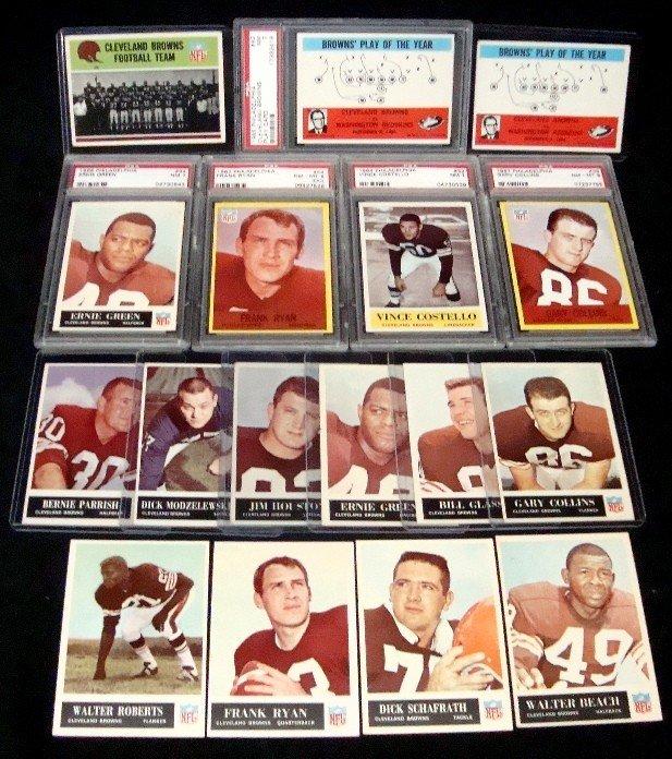 467: 1960's Philadelphia Gum Football Card Lot