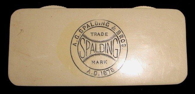 472A: Vintage Spalding Umpire's Scorer w. 1876 Patent D