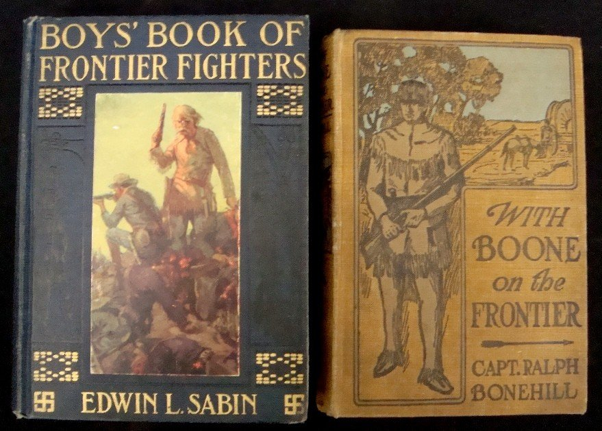 12: 1900's Boy's Book of Frontier Fighters, W Boone on
