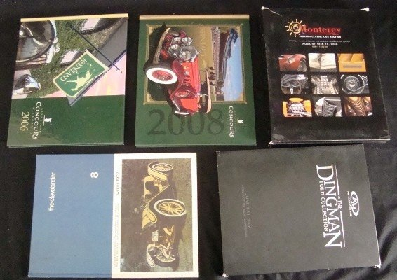 22: Vintage Automobile Catalogs and Book Lot