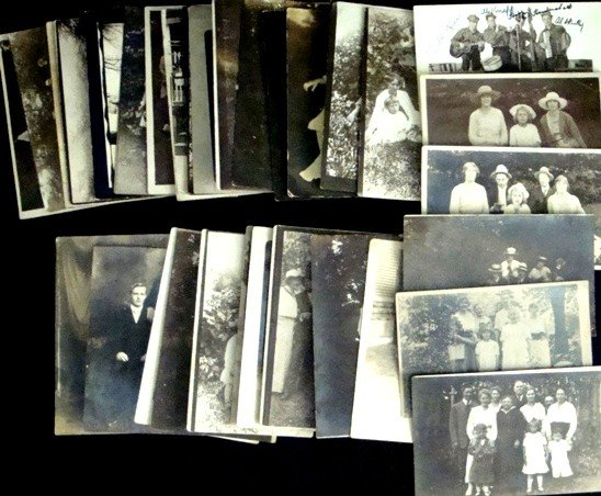 276: Lot of Vintage Real Photo Postcards