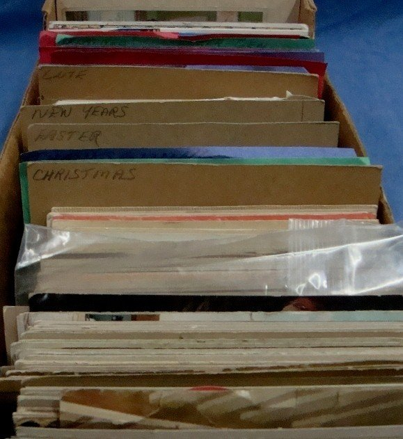278: Lot of (700+) Early Mixed Topic Postcards