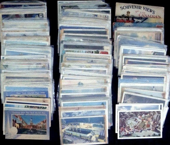 283: Lot of Early Fair & Exposition Postcards