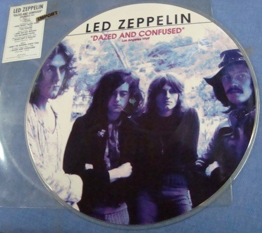 290: Lot of Bootleg/Import Zeppelin Records