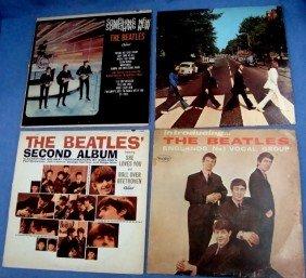 Lot Of (4) Vintage Beatles Albums