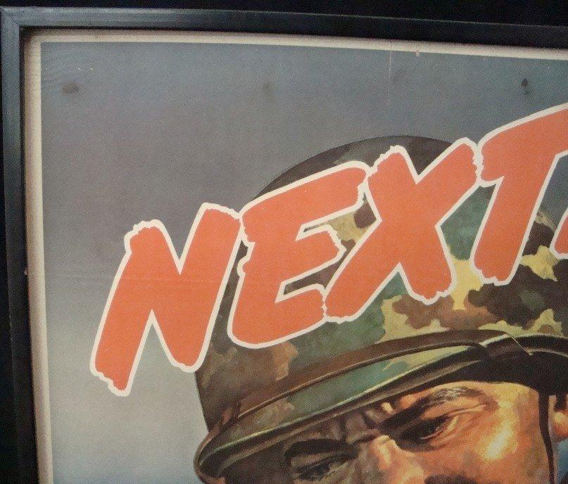 306: 1944 Next! Japan 6th War Loan Poster
