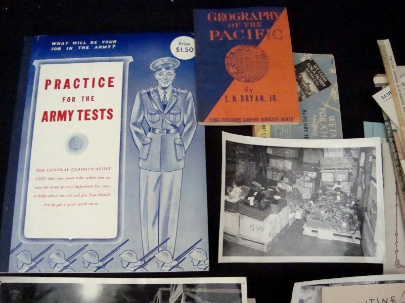 309: WWII Military Related Paper Items