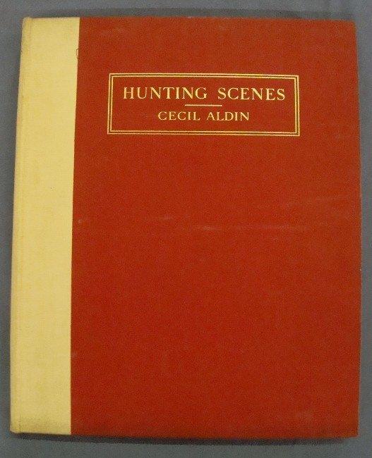319: 1936 Hunting Scenes by Cecil Aldin