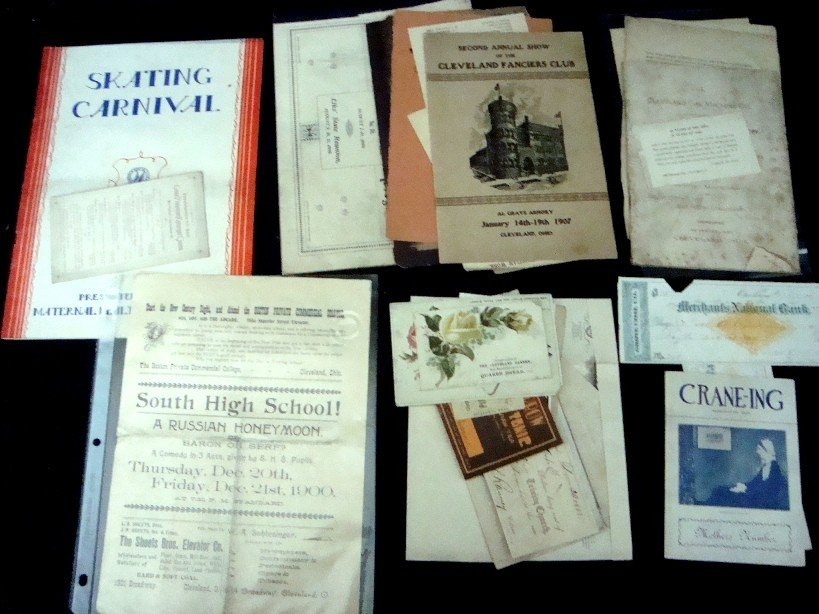 330: Early Cleveland/Northeast Ohio Paper Lot
