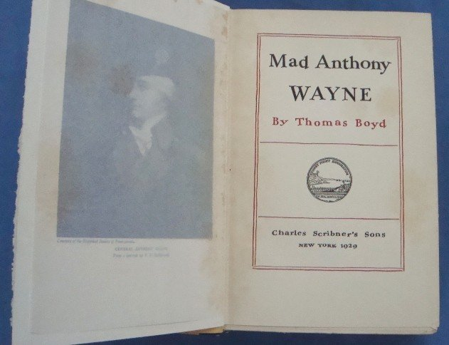 389: 1929 Mad Anthony Wayne, Ltd Ed Signed - 3