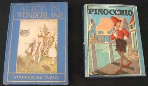 401: 1916 Alice in Wonderland, Pinocchio