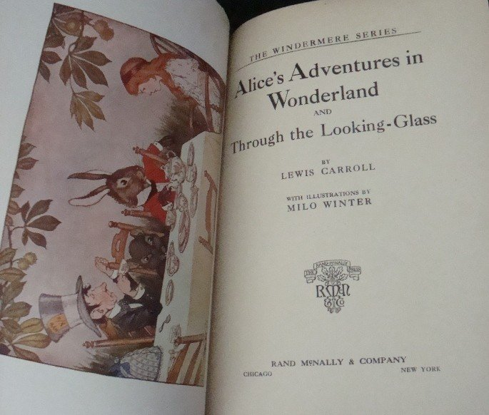 401: 1916 Alice in Wonderland, Pinocchio - 7