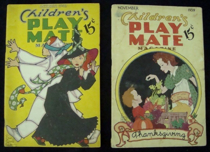 549: 1939, 1942 Children's Play Mate Magazines