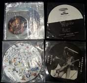 587 Lot of Vintage Led Zeppelin RecordsPic Discs