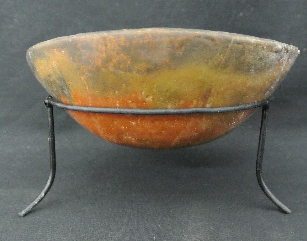 1: Prehistoric Hohokam Plain Ware Pottery Bowl.