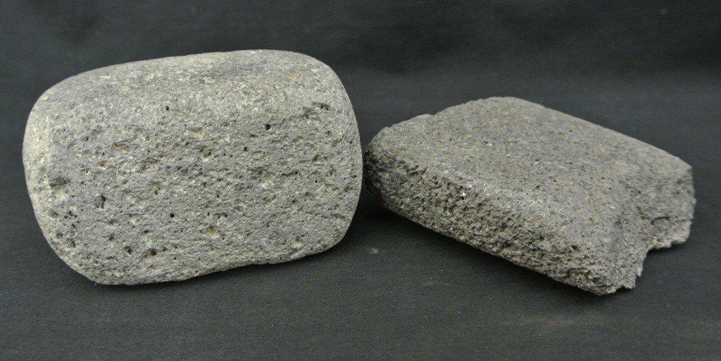 3: 2 Prehistoric Hohokam Stone Corn Grinders.
